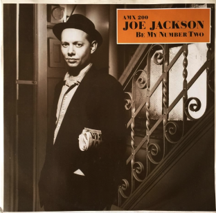 "Joe Jackson ‎- Be My Number Two (12"") (VG+/VG)"